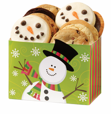 Holiday Snowman Cookie Box