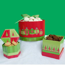 Jingle Bells Holiday Gift Boxes - OUT OF STOCK