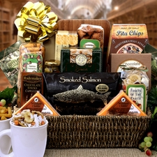 Lasting Impressions Gourmet Basket - FREE SHIPPING