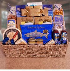 Life's Luxuries Gift Basket - FREE SHIPPING
