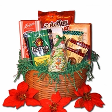 Merry Christmas Gift Basket (Medium) -  FREE SHIPPING