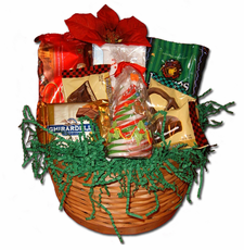 Merry Christmas Gift Basket (Small) - FREE SHIPPING