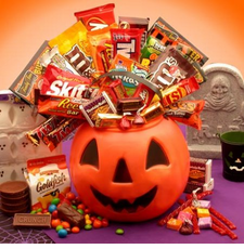 Monster Mash Bucket of Treats - FREE SHIPPING