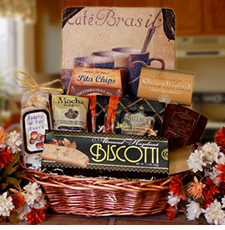 Morning Cup of Coffee Gift Basket - FREE SHIPPING