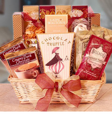 Offer Your Condolences Gift Basket - FREE SHIPPING