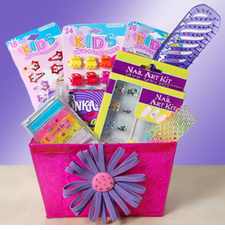 Pampered and Pretty Tween Gift Basket - FREE SHIPPING