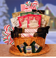 Peppermint & Coffee Gift Basket - FREE SHIPPING