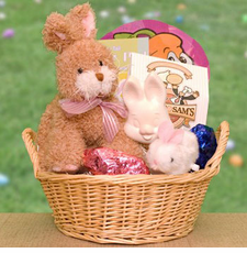 Peter Cottontail Easter Gift Basket - FREE SHIPPING