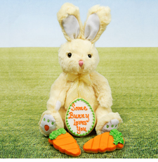 """Somebunny Loves You"" Plush"