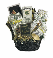 Thanks a Million Gift Basket - FREE SHIPPING