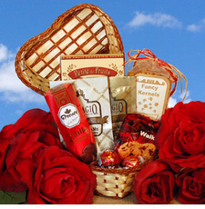 Touches My Heart Gift Basket