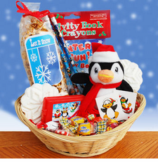 Winter Fun Time Gift Basket