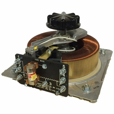 6020-2D Staco | Manual and Motorized, Two to Six Gang Variable Transformer, VT-5