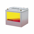 """MK Battery 8G40 (1/4""""x20 Insert) (C) - 12 Volts, 40 Amp Hours/20 Hours"""