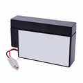 MK Battery ES0.8-12 - 12 Volts, 0.8 Amp Hours/20 Hours