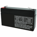 MK Battery ES1.2-6 - 6 Volts, 1.2 Amp Hours/20 Hours