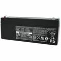 MK Battery ES1.9-12 - 12 Volts, 2.3 Amp Hours/20 Hours