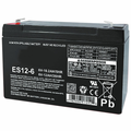 MK Battery ES12-6 T2 - 6 Volts, 12 Amp Hours/20 Hours