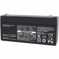 MK Battery ES3-6 - 6 Volts 3 Amp Hours/20 Hours