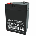 MK Battery ES4-6 - 6 Volts, 4.5 Amp Hours/20 Hours