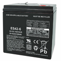 MK Battery ES42-6 - 6 Volts 42 Amp Hours/20 Hours