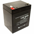 MK Battery ES5-12 - 12 Volts, 5 Amp Hours/20 Hours