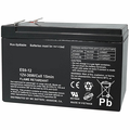 MK Battery ES9-12 - 12 Volts, 9 Amp Hours/20 Hours