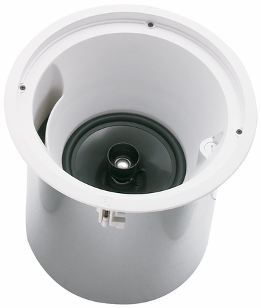 """Electro-Voice EVID C8.2HC - 8"""" Waveguide Coupled (Patent Pending) Coaxial Speaker With Horn Loaded Ti Coated Tweeter - Ideal For High Ceiling Environments - Complete With Back Can Enclosure, Tile Rails, And Mounting Ring - For 70V/100V Or 8-Ohm Operation. Taps At 60, 30, 15, 7.5, And 3.75 Watts (Pair), F.01U.117.588, 800549416160."""
