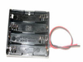Bud Industries HH-3633 - Electronics Enclosure Accessories-HH series-Accessories Battery Holder-L3 X W1 X D2 - Battery Holder - 4 Aa