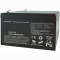 MK Battery ES14-12 - 12 Volts, 14 Amp Hours/20 Hours