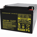 MK Battery ES26-12SA - 12 Volts, 26 Amp Hours/20 Hours
