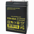 MK Battery ES4-6SA - 6 Volts, 4 Amp Hours/20 Hours