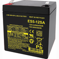 MK Battery ES5-12SA - 12 Volts, 5 Amp Hours/20 Hours