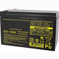 MK Battery ES7-12SA - 12 Volts, 7 Amp Hours/20 Hours