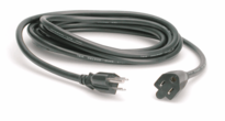 Hosa PWX-415 - Power Extension Cord, NEMA 5-15R to NEMA 5-15P, 15 ft