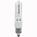 Eiko Q500CL/MC-130V - Halogen Light Bulb, 130V 500W T-4 E11 Screw Base (EYW), 031293496157.