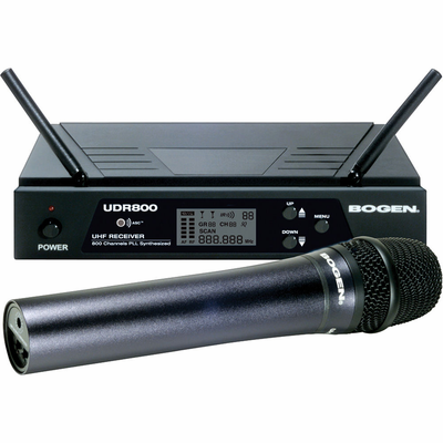 UDMS800HH Bogen | UDMS800HH - Mic,Wireless, Hand Held 800Ch