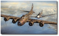 A Higher Call by John Shaw (B-17 Flying Fortress, Bf109)
