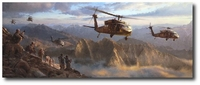 A New Dawn: Afghanistan by Matt Hall (UH-60 Black Hawk)