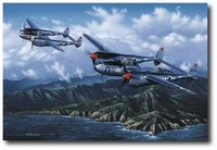 A Pair of Aces by Stan Stokes (P-38)