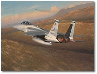Advantage Eagle by William S. Phillips (F-15)