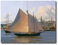 Afternoon Arrival, Gloucester by Christopher Blossom