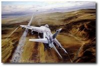 Airstrike by Robert Taylor (Harrier)
