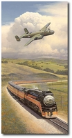 Alameda Bound by William S. Phillips (B-25 Mitchell)