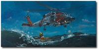 Alaskan Nights by Bryan David Snuffer (MH-60 Jayhawk)