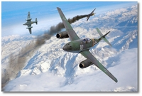 Alpine Victory by Ron Cole (Me262)