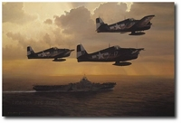 And Now the Trap by William S. Phillips (F6F Hellcat)