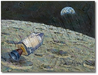 Apollo 12 is Headed Home by Alan Bean