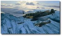 Arctic Hunters by Richard Taylor (Me109)