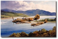 AVIATION ART HANGAR - Chennault's Flying Tigers by Robert Taylor
